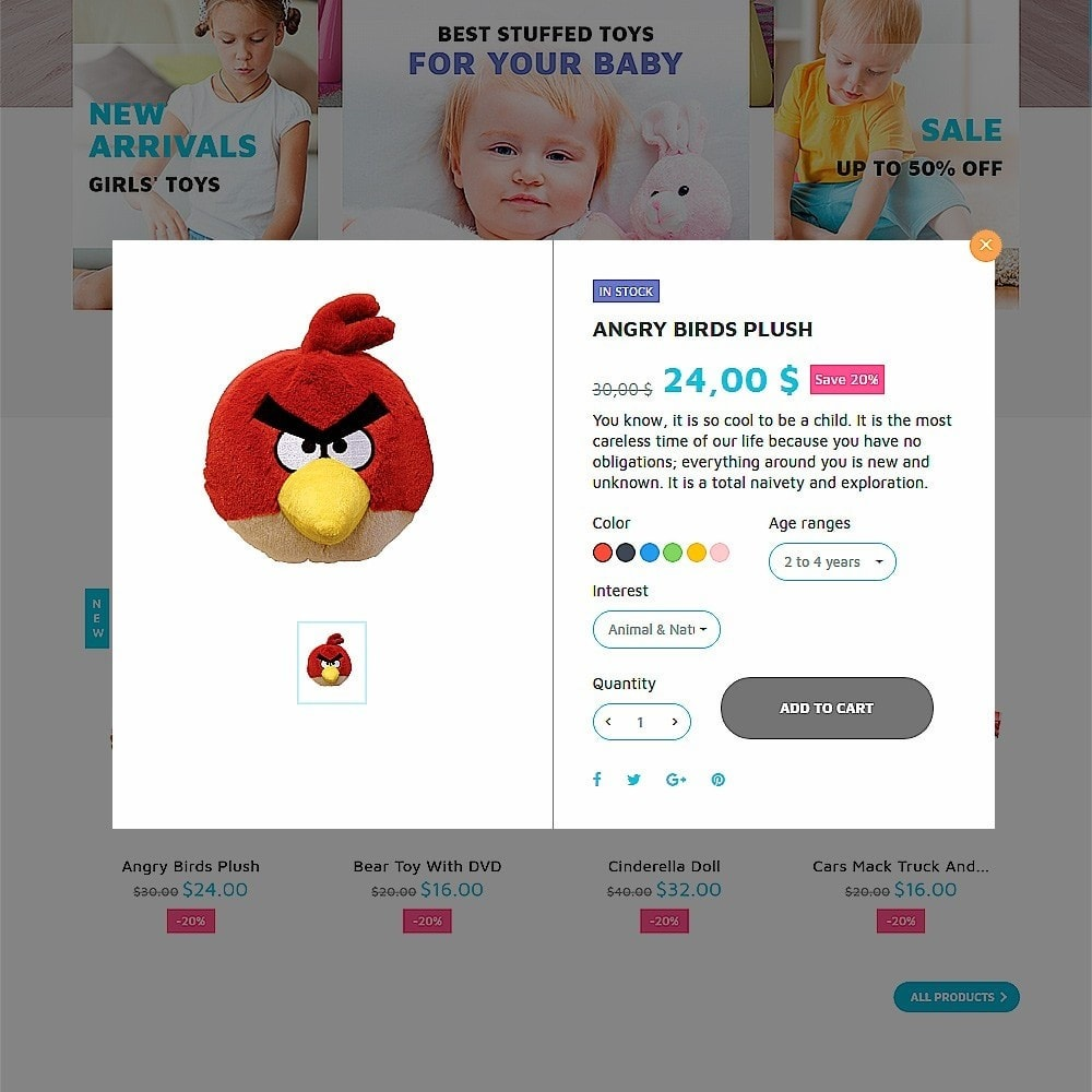 theme - Kinderen & Speelgoed - ToyJung - Toy Store Responsive - 4