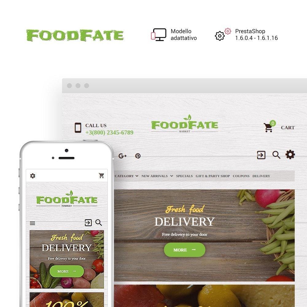 theme - Cibo & Ristorazione - FoodFate - per Un Sito di Negozio di Alimentari - 1