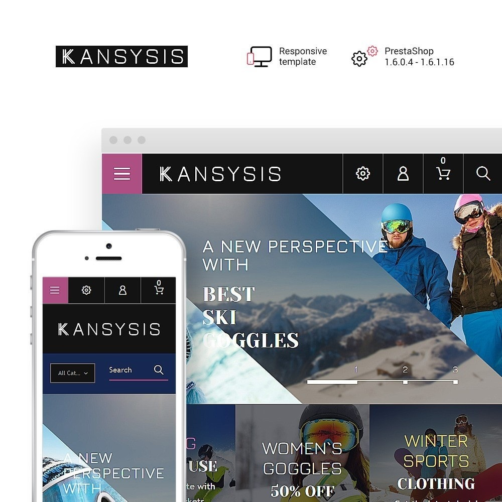 theme - Sport, Aktivitäten & Reise - Kansysis - Sport Clothing & Equipment - 1