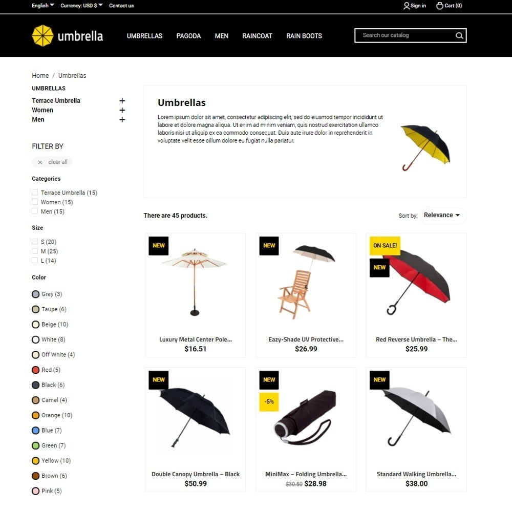 theme - Mode & Schuhe - Umbrella - 5