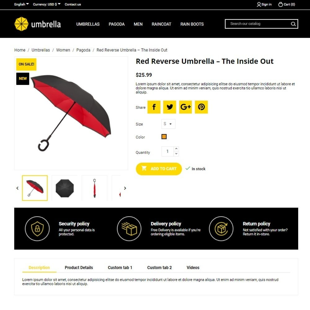 theme - Mode & Schuhe - Umbrella - 6