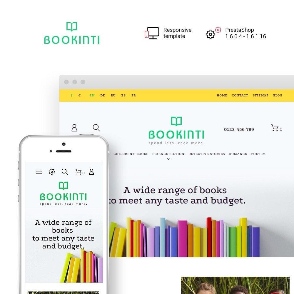 theme - Art & Culture - Bookinti - Book Store - 1