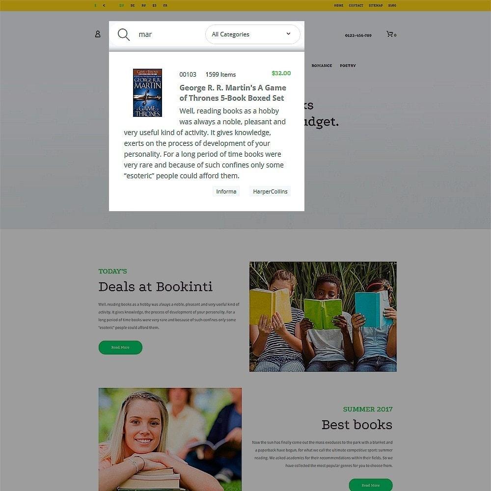 theme - Arte & Cultura - Bookinti - Book Store - 5