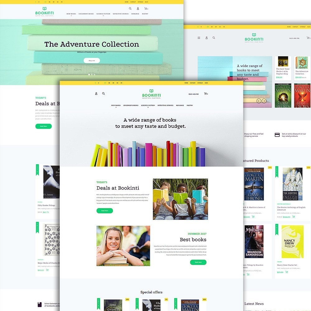 theme - Arte y Cultura - Bookinti - Book Store - 2