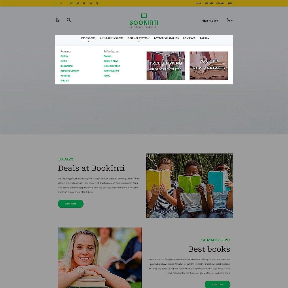 theme - Arte y Cultura - Bookinti - Book Store - 6