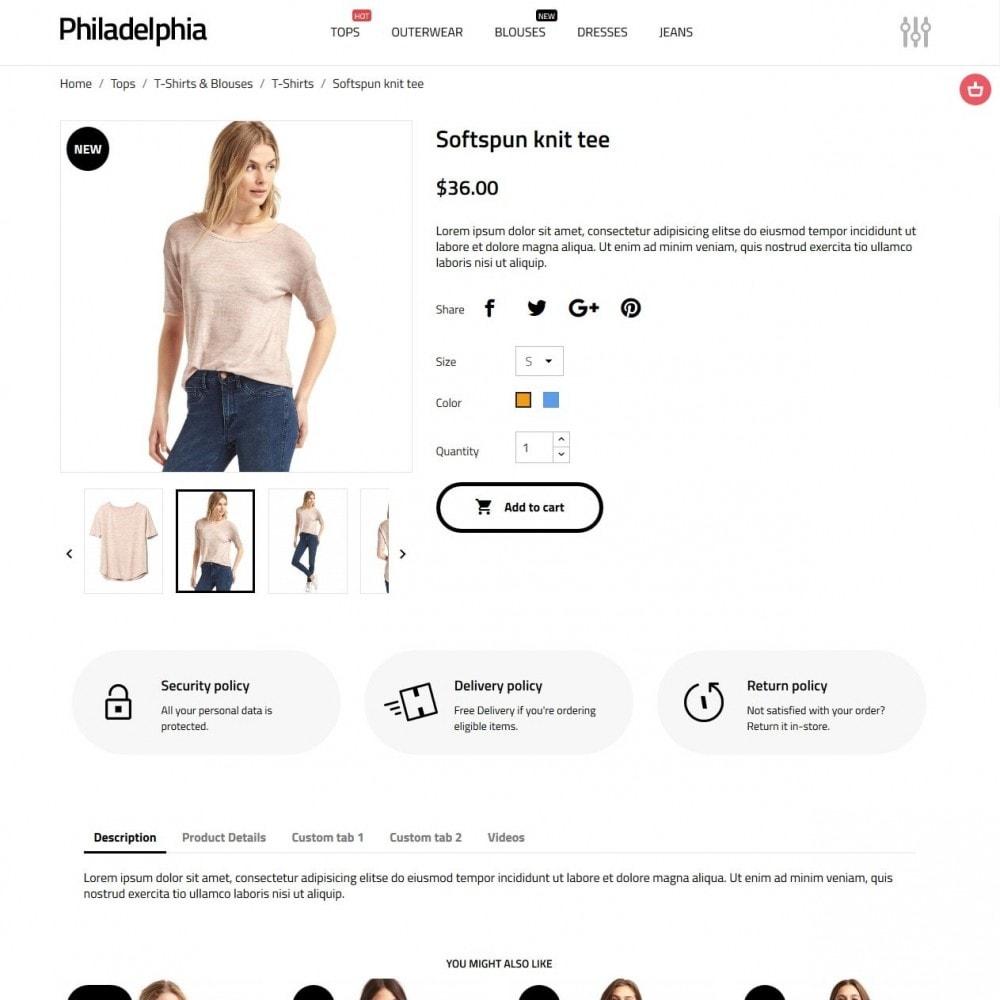 theme - Moda & Calçados - Philadelphia - 6