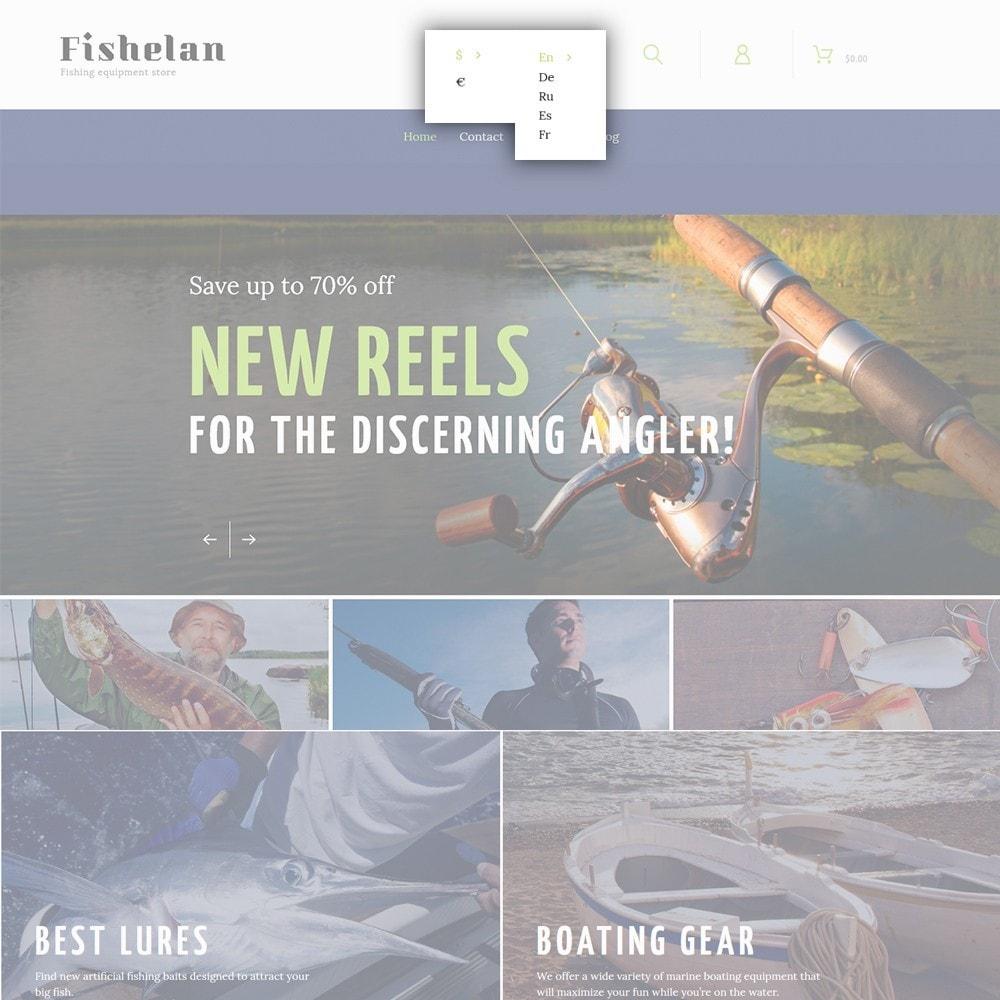 theme - Sport, Rozrywka & Podróże - Fishelan - Fishing Equipment - 6