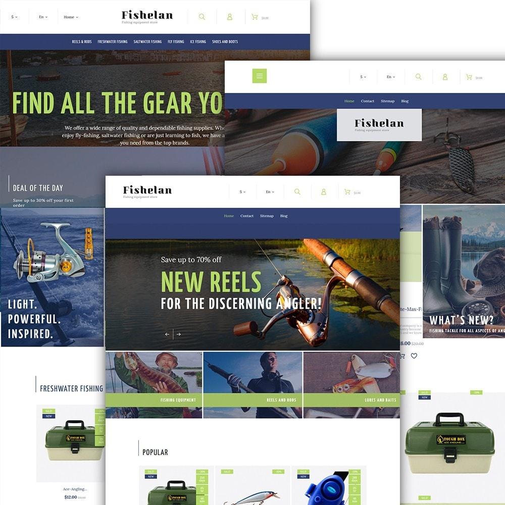 theme - Sport, Attività & Viaggi - Fishelan - Fishing Equipment - 2
