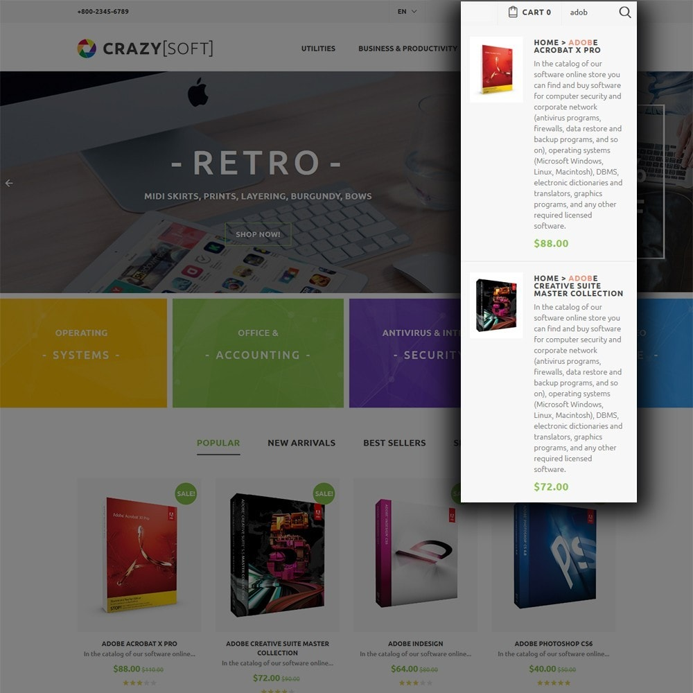 theme - Electrónica e High Tech - Crazy Soft - 6