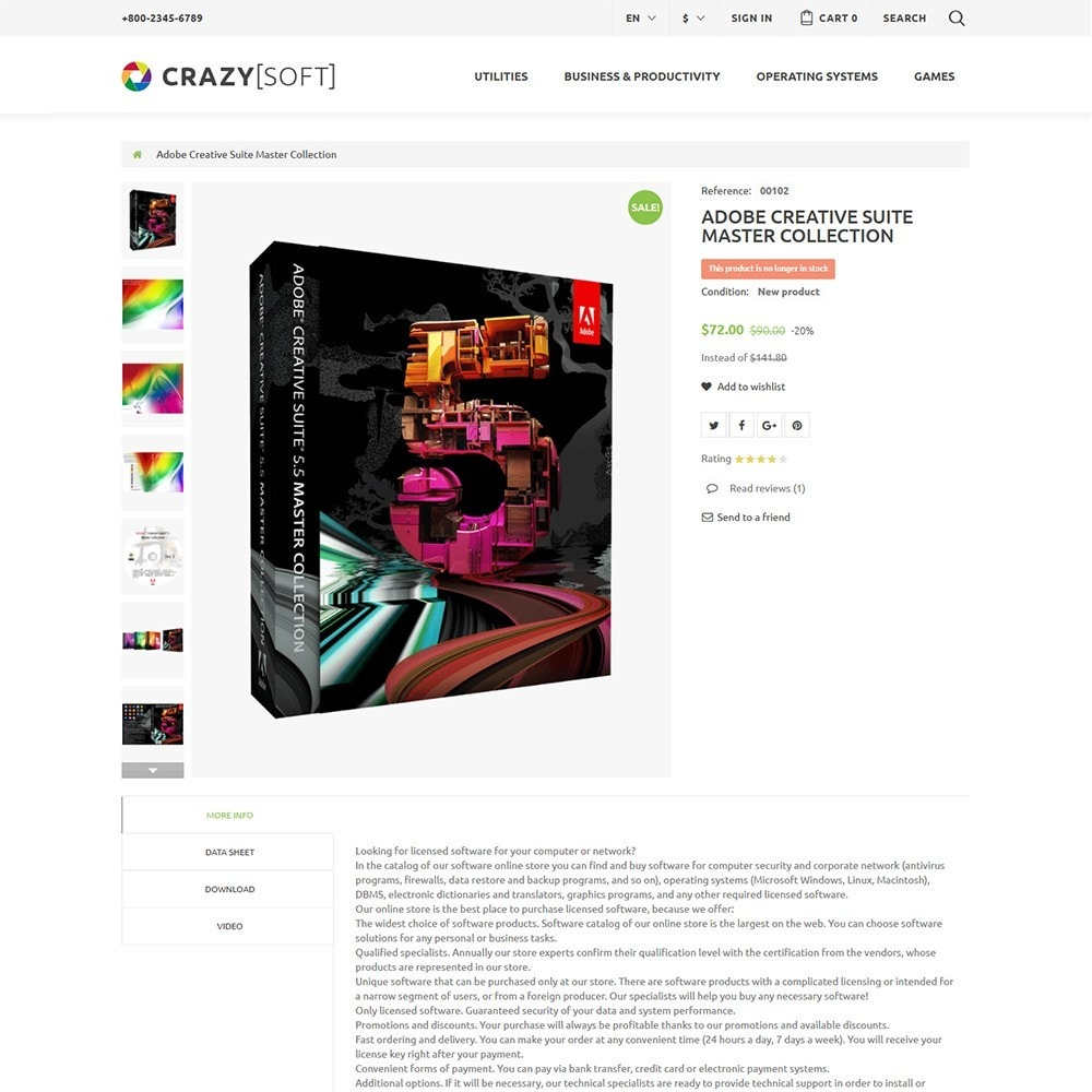 theme - Elettronica & High Tech - Crazy Soft - 3