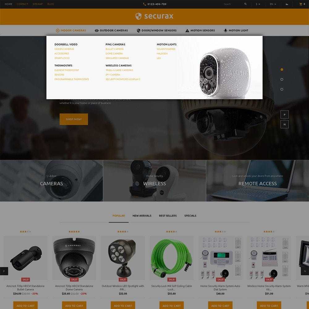 theme - Home & Garden - Securax - Security Systems Responsive - 5