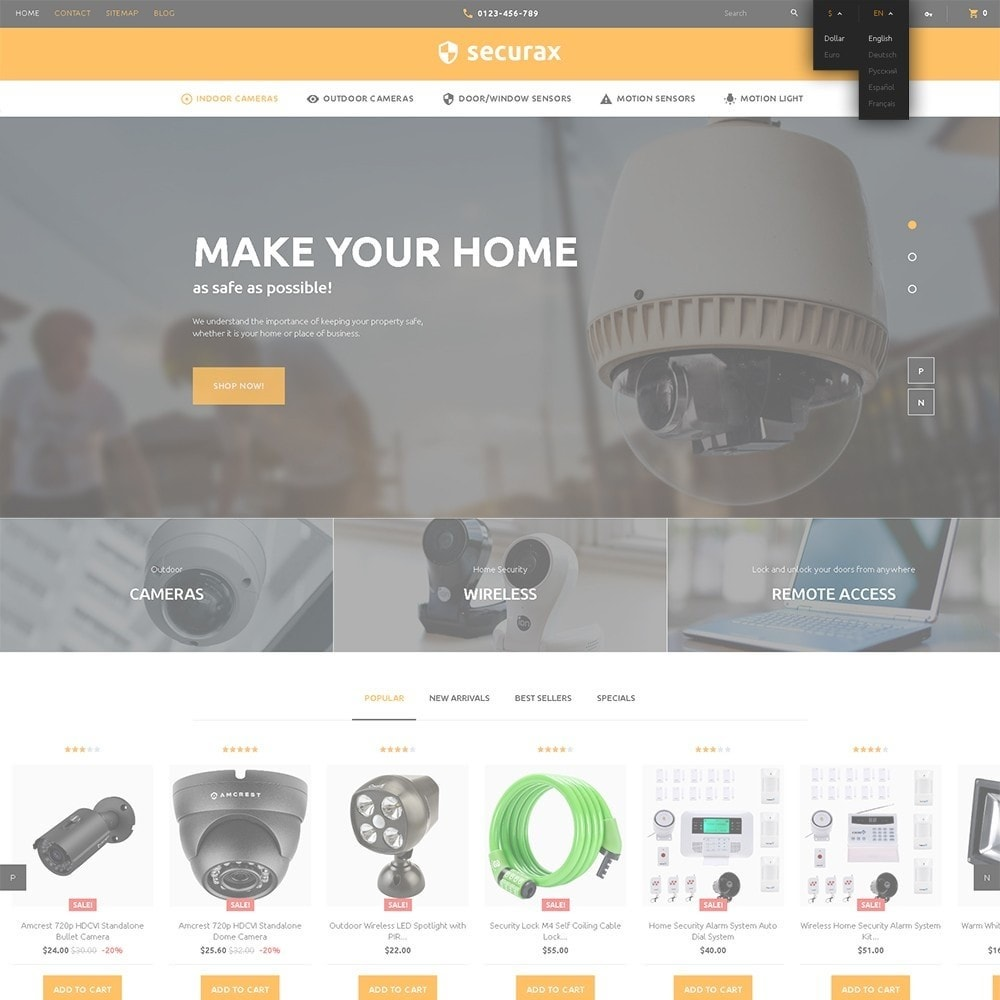 theme - Home & Garden - Securax - Security Systems Responsive - 6