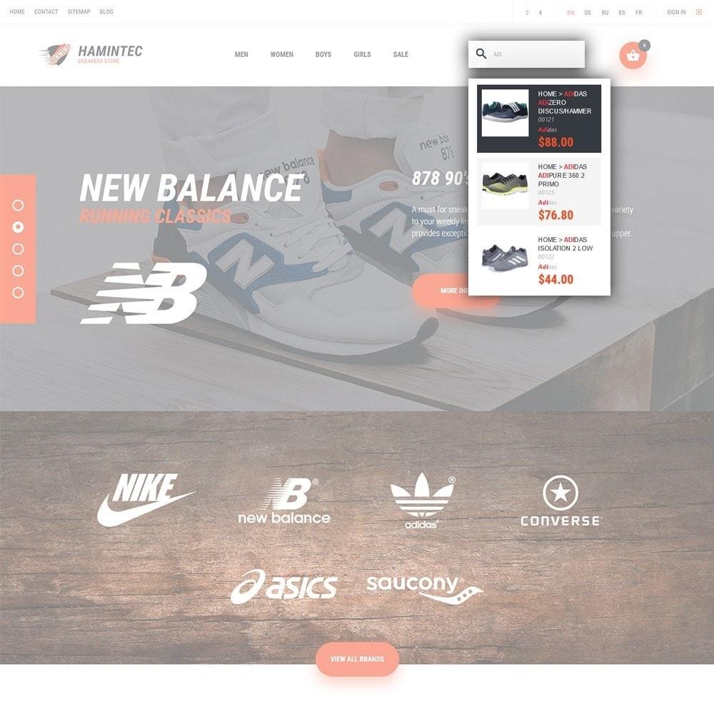 theme - Мода и обувь - Hamintec - шаблон на тему интернет-магазин кроссовок - 6