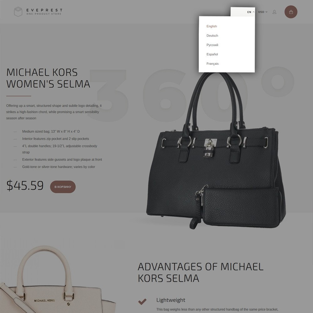 theme - Moda y Calzado - Eveprest - One-Product Store - 7