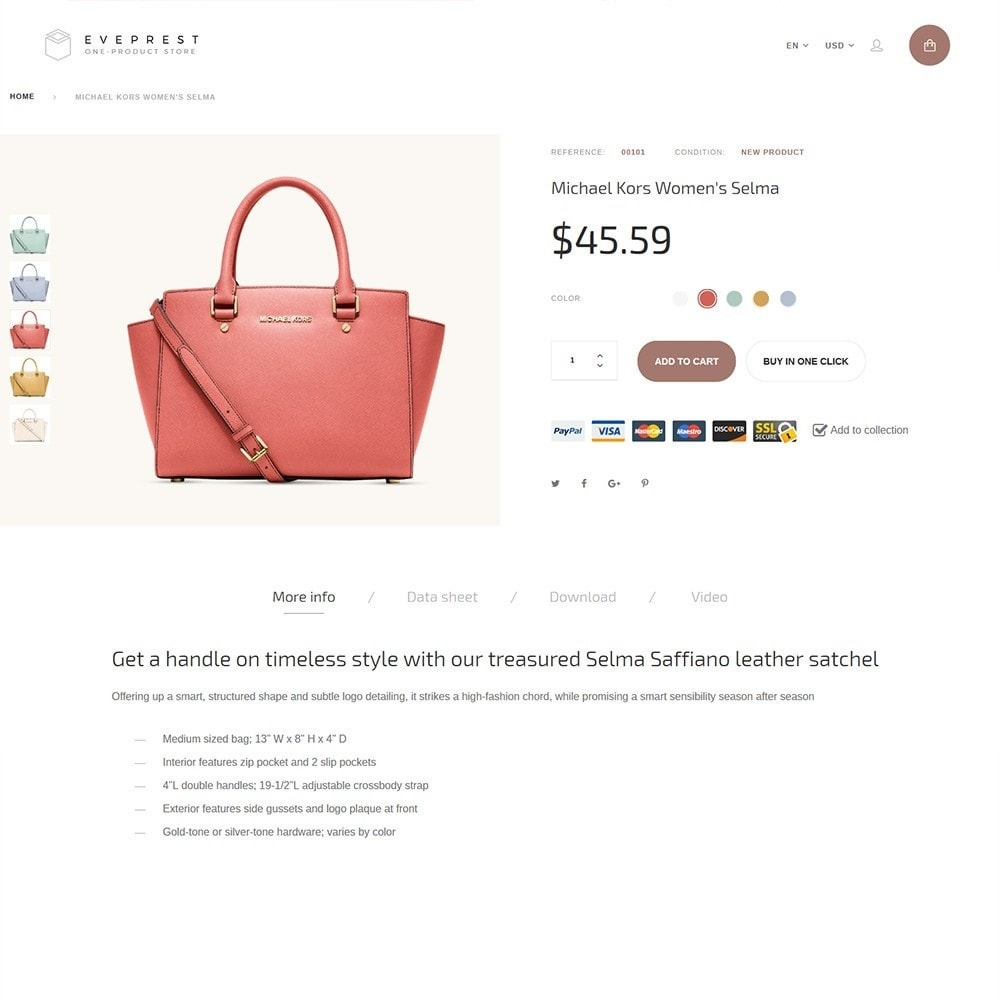 theme - Мода и обувь - Eveprest - One-Product Store - 4