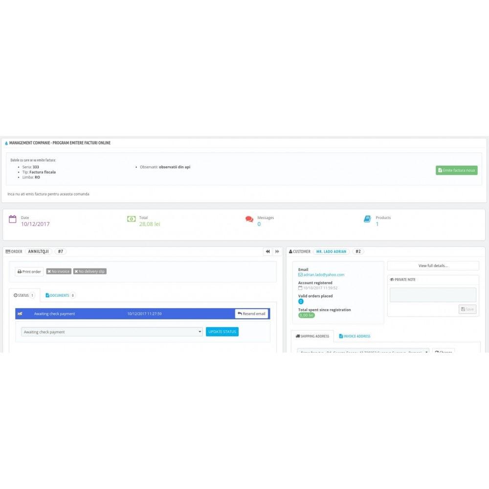 module - Księgowość & Fakturowania - Management Companie - Online invoicing software - 2