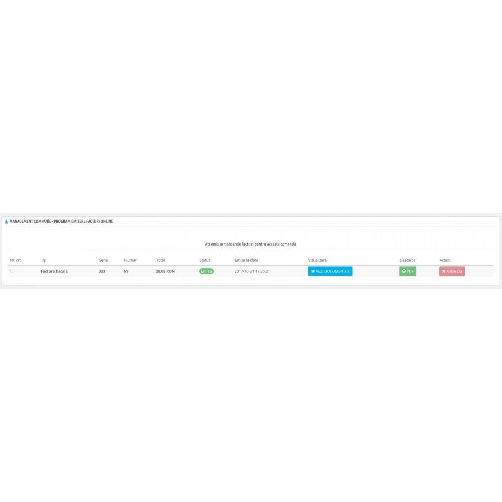 module - Бухгалтерии и выставления счетов - Management Companie - Online invoicing software - 4
