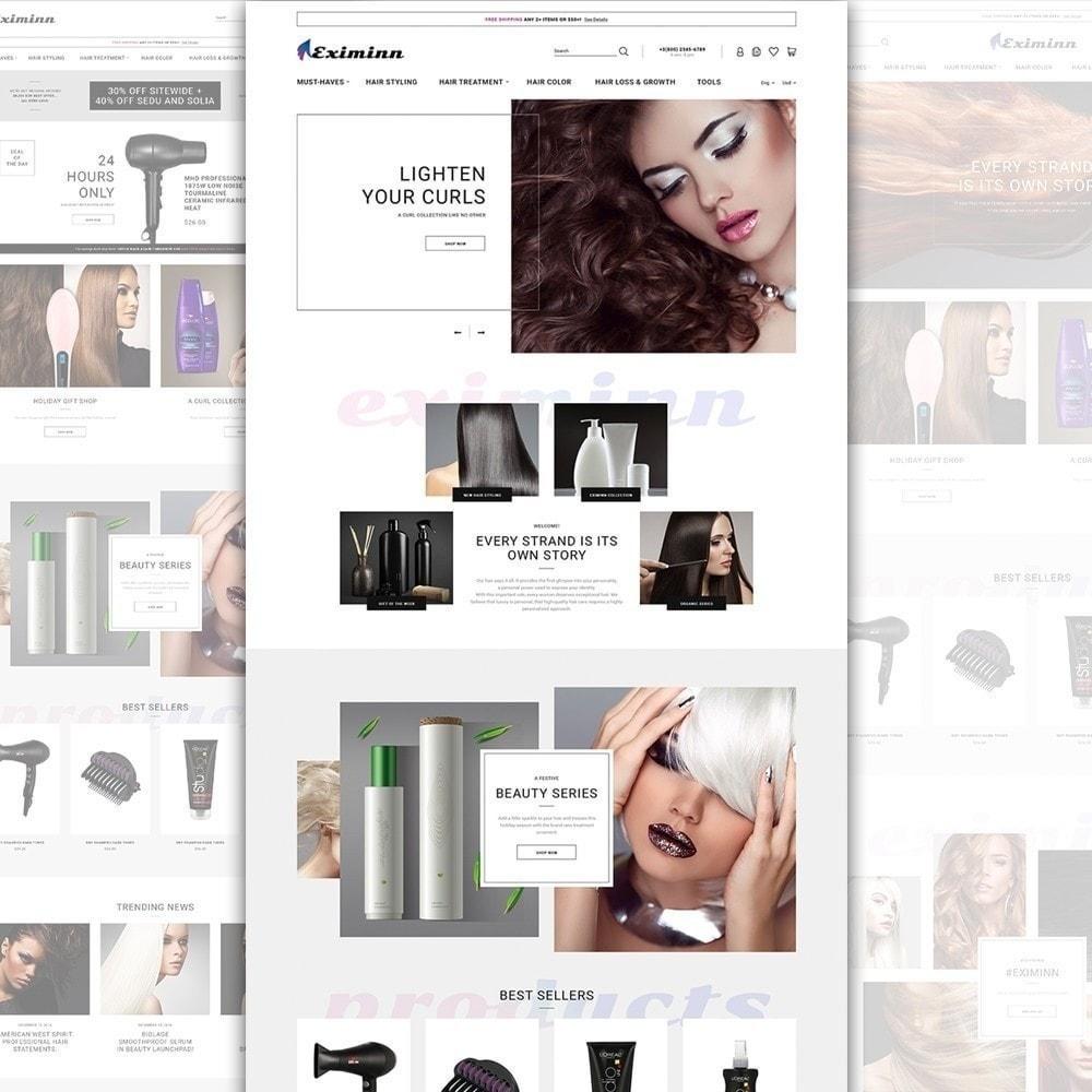 theme - Santé & Beauté - Eximinn - pour salon de coiffure - 3