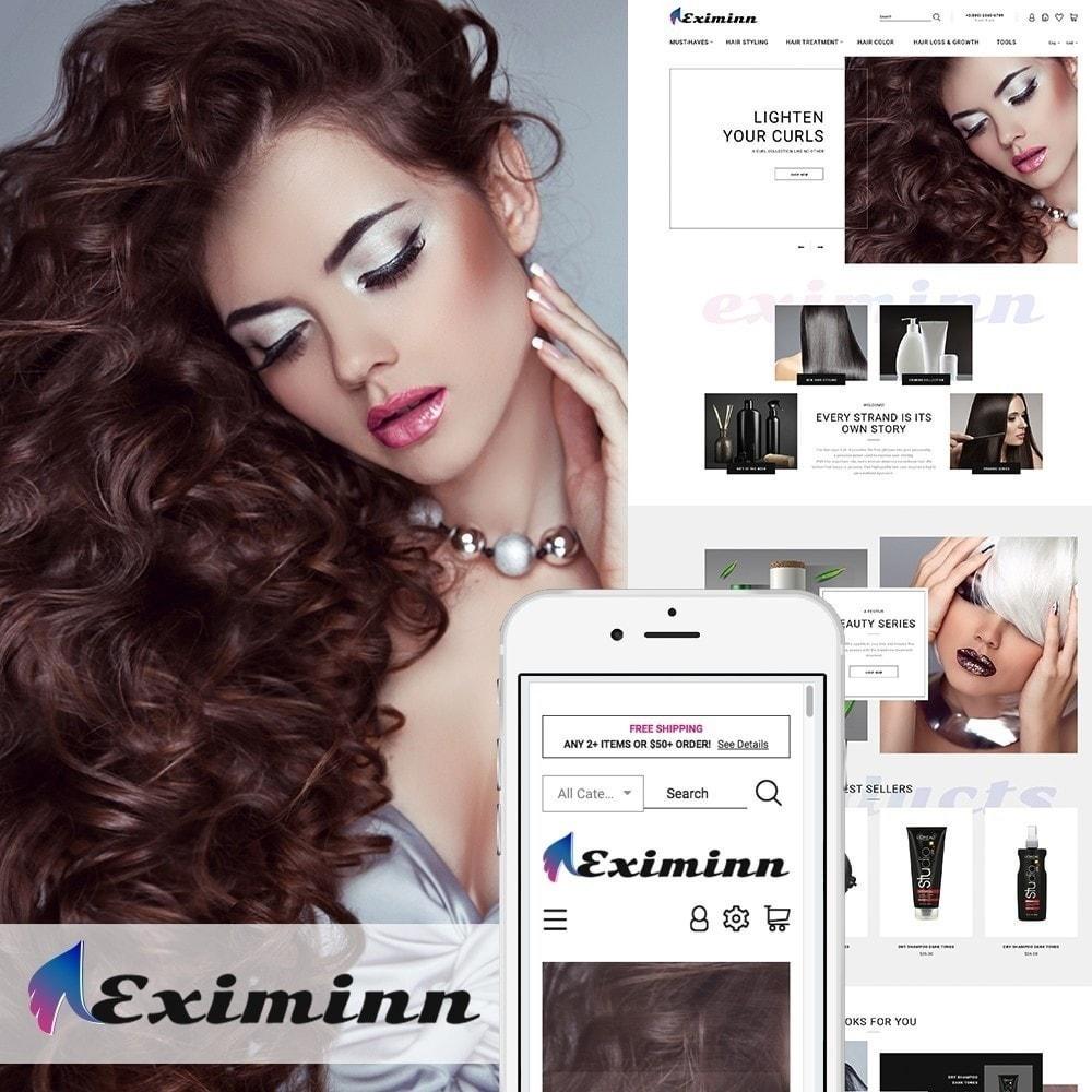 theme - Salute & Bellezza - Eximinn - per Un Sito di Parrucchiere - 2