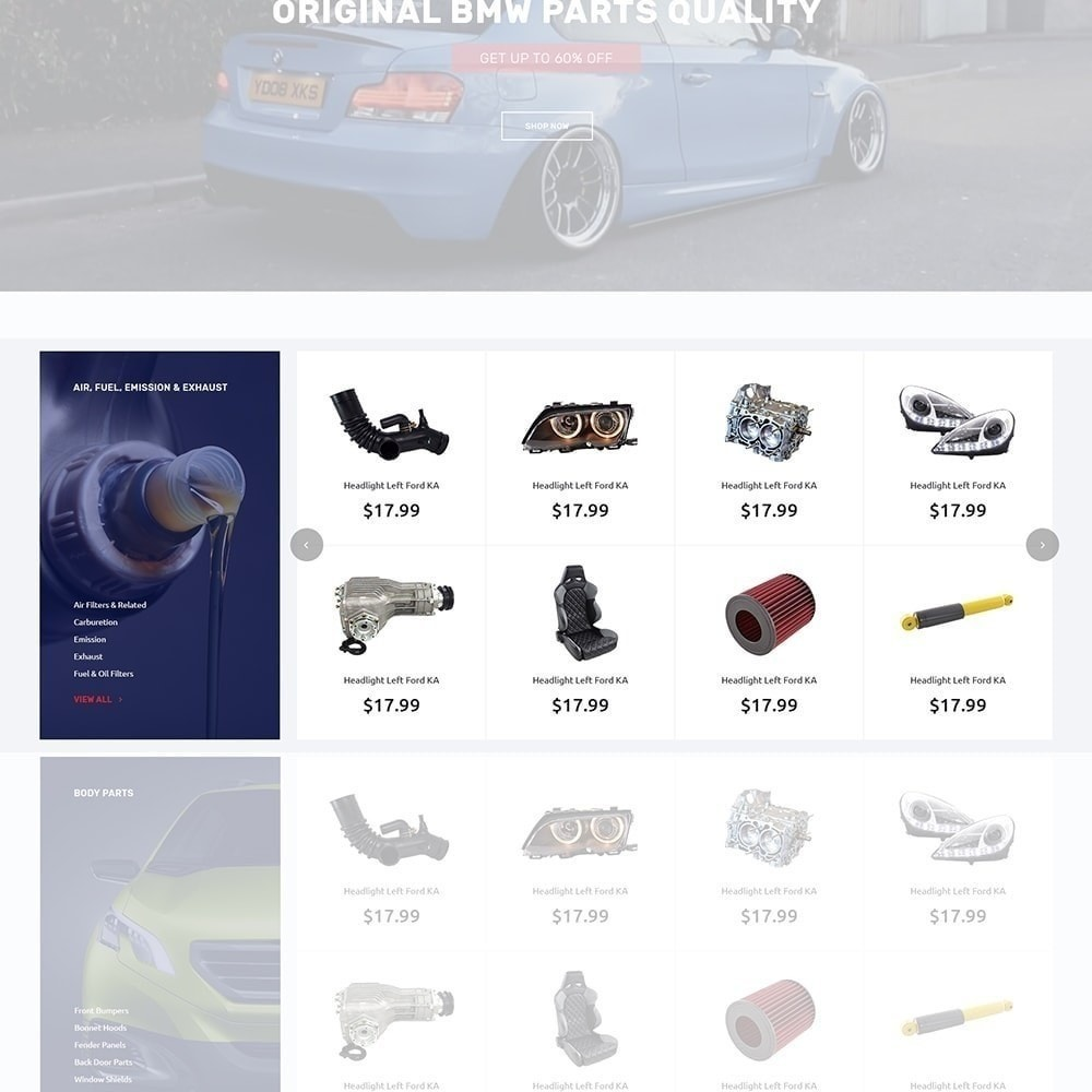 theme - Auto & Moto - Autotune - pour site de pièces automobiles - 6