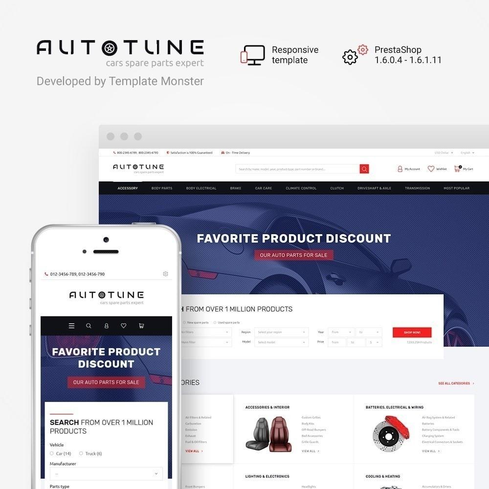 theme - Auto & Moto - Autotune - per Un Sito di Ricambi Auto - 2