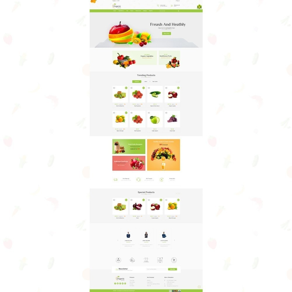 theme - Eten & Restaurant - Organic Food Store - 2