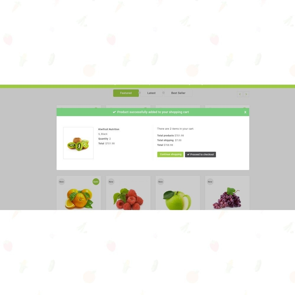 theme - Eten & Restaurant - Organic Food Store - 6