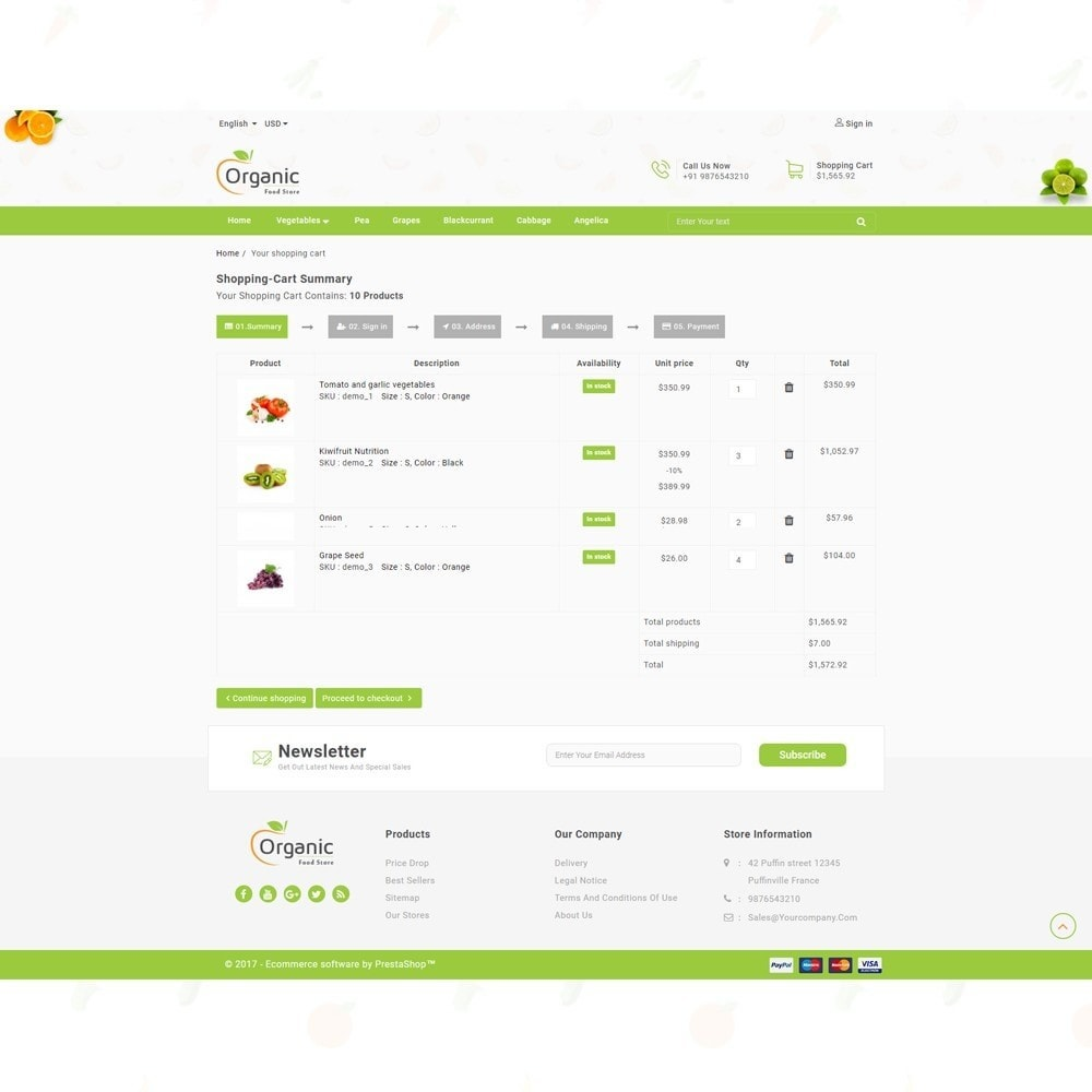 theme - Eten & Restaurant - Organic Food Store - 7