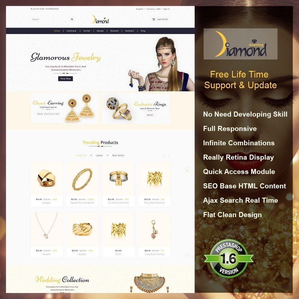 theme - Bellezza & Gioielli - Jewellery Shop - 2