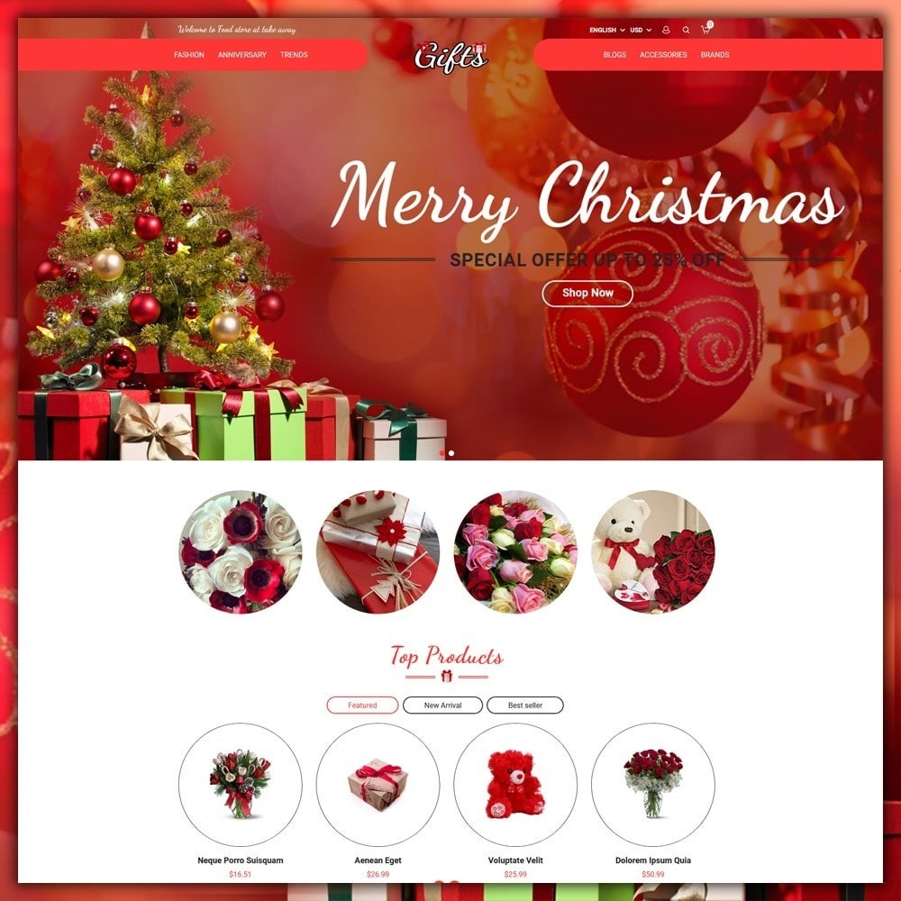 theme - Presentes, Flores & Comemorações - Gift Shop - 3
