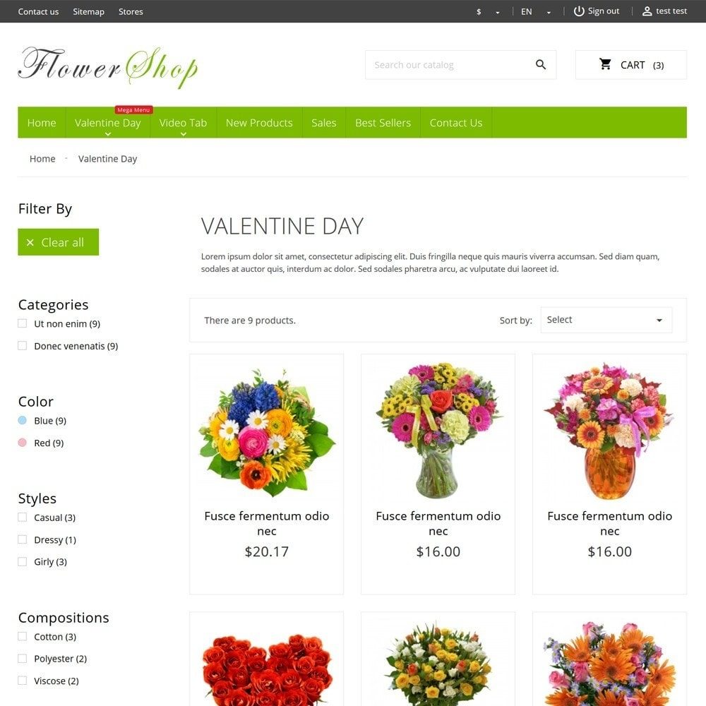 theme - Gifts, Flowers & Celebrations - FlowerShop - 7