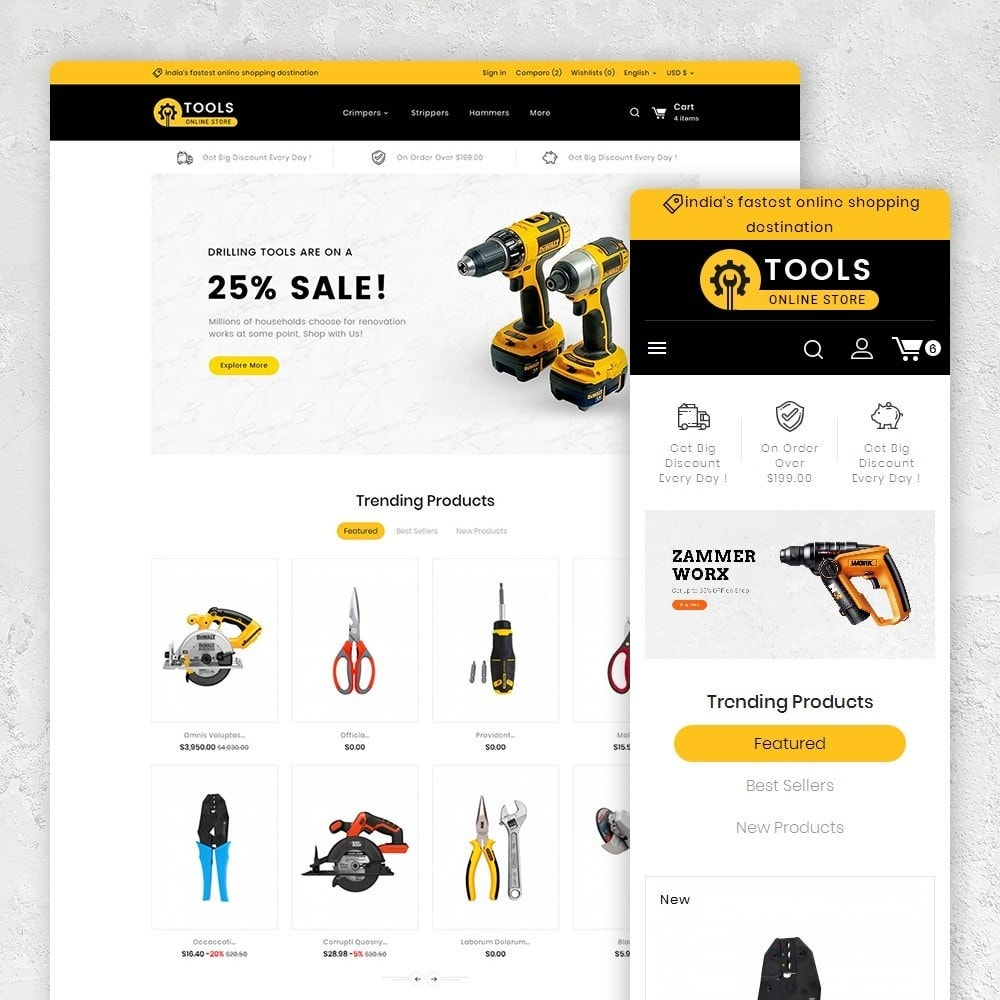theme - Home & Garden - Tools Store - 1