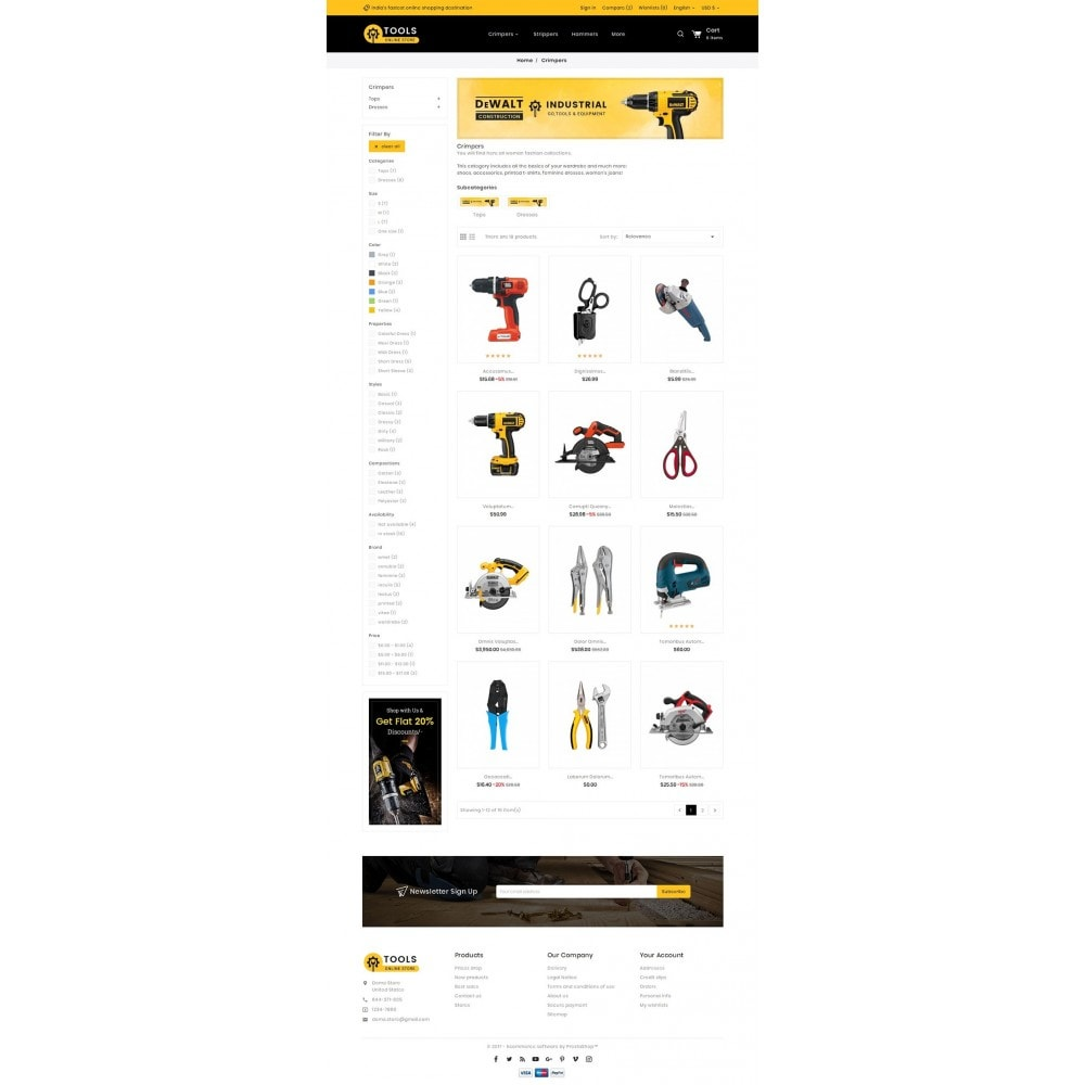 theme - Dom & Ogród - Tools Store - 3