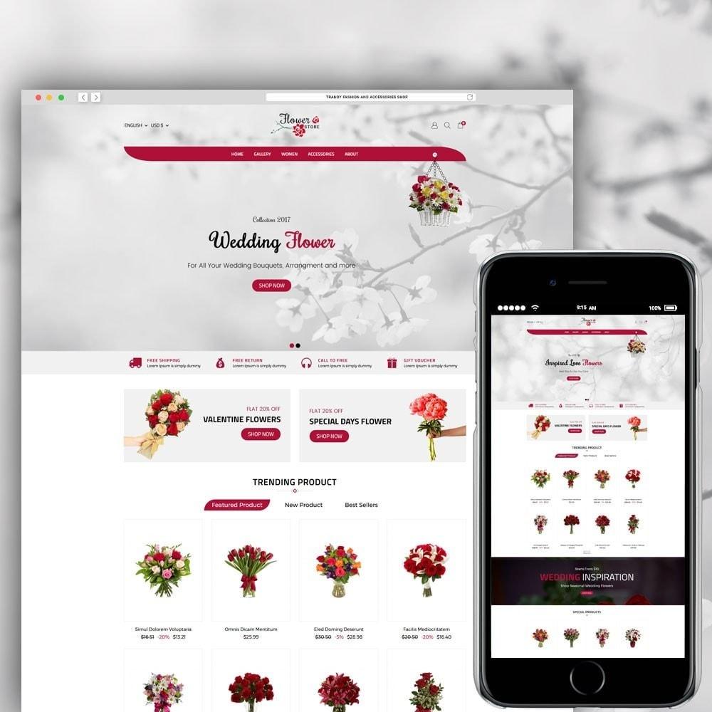 theme - Prezenty, Kwiaty & Uroczystości - Flower Store - 1