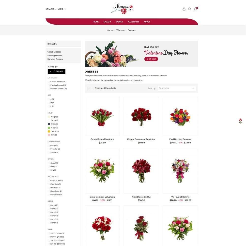 theme - Prezenty, Kwiaty & Uroczystości - Flower Store - 5