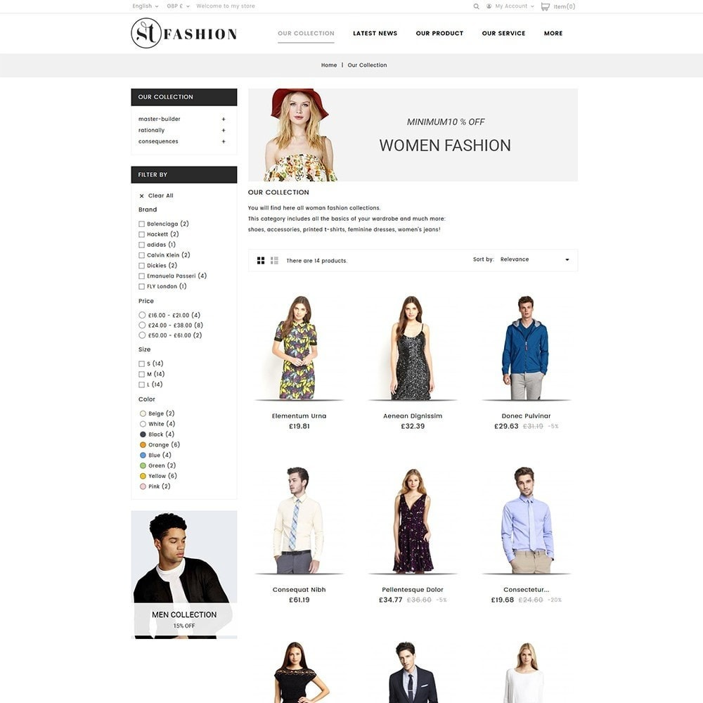 theme - Fashion & Shoes - ST Fashion Store - 4