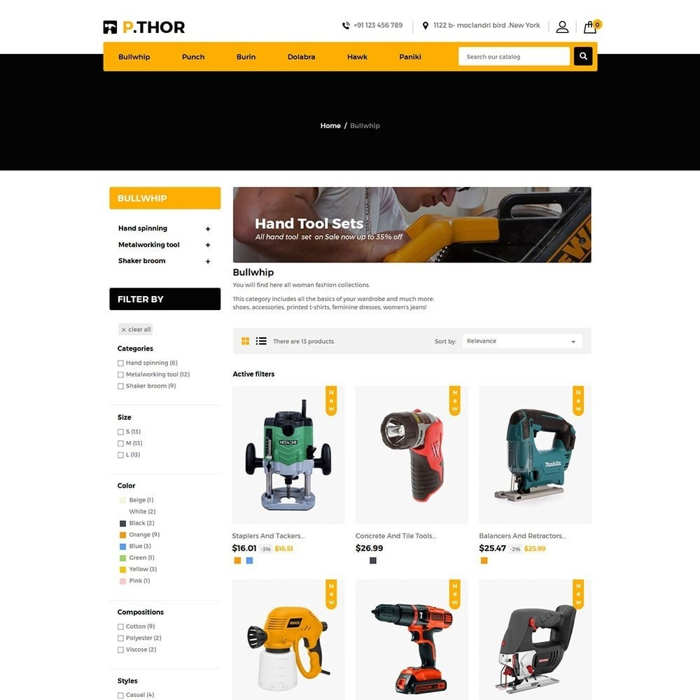 theme - Automotive & Cars - Thor Tools Store - 3