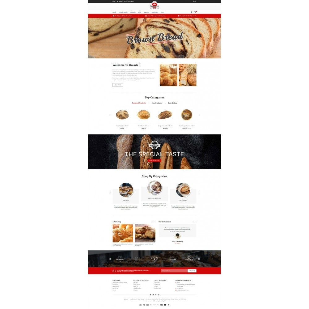 theme - Lebensmittel & Restaurants - Fresh Bakery store - 2