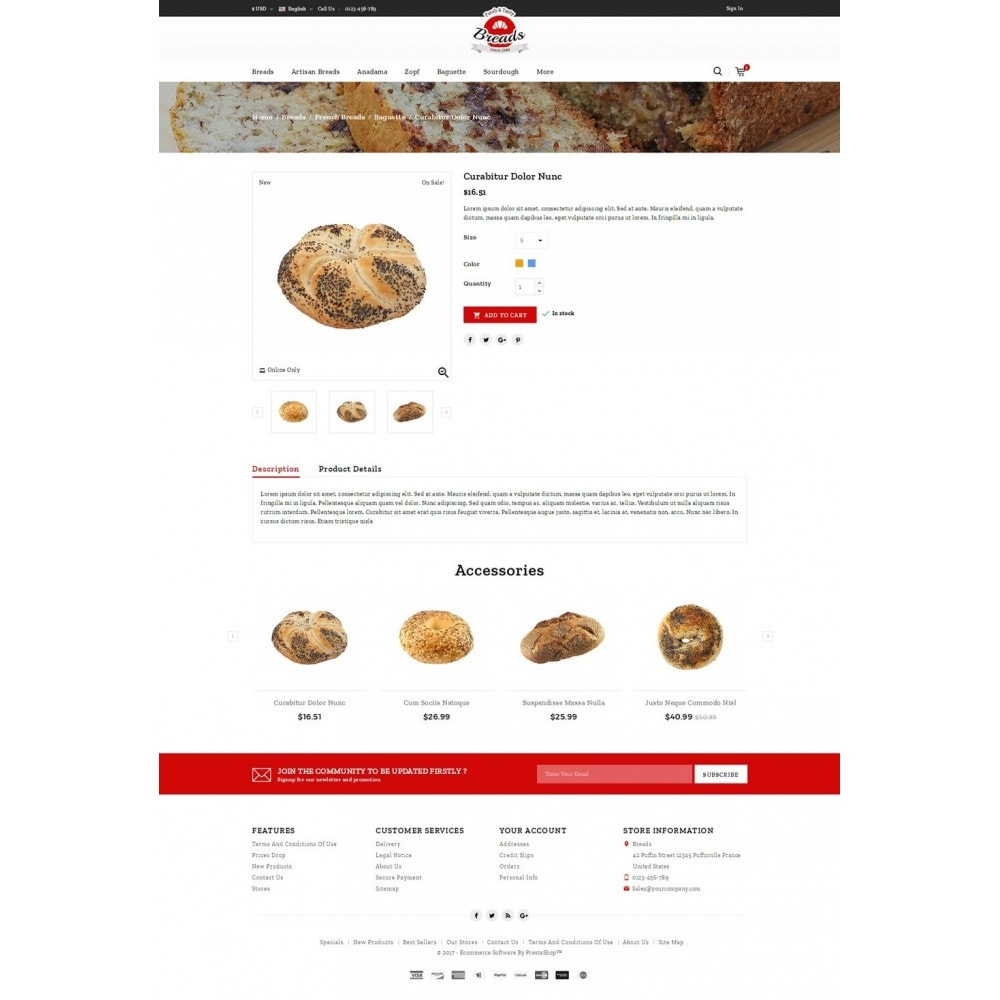 theme - Lebensmittel & Restaurants - Fresh Bakery store - 4