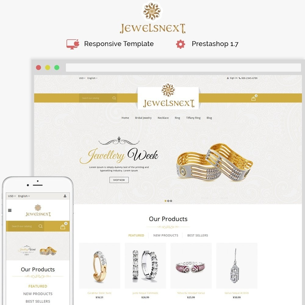 theme - Jewelry & Accessories - Jewelsnext Jewelry Shop - 1