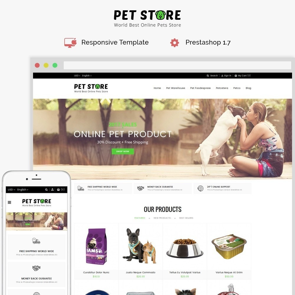 theme - Tier - Pet Store - 1