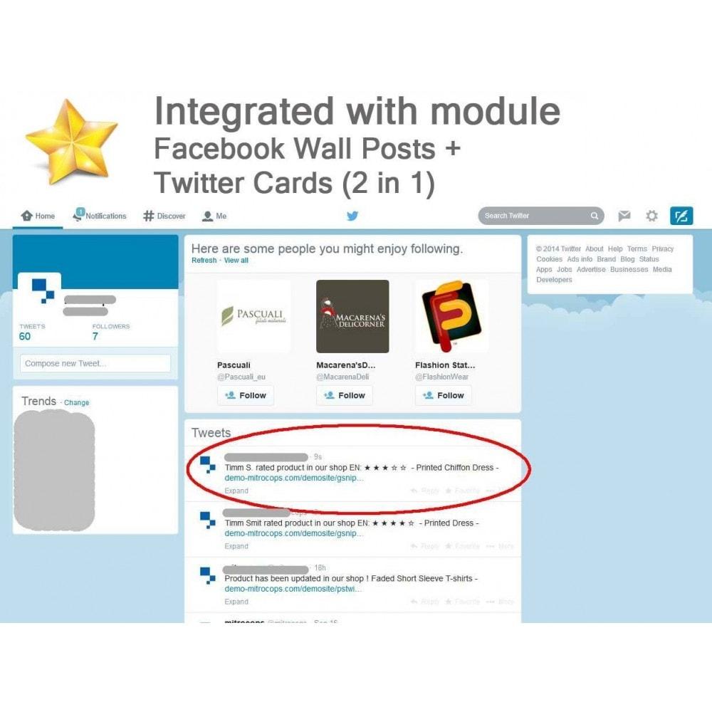 module - Recensioni clienti - Product Reviews Advanced PRO + Reminder + User Profile - 6