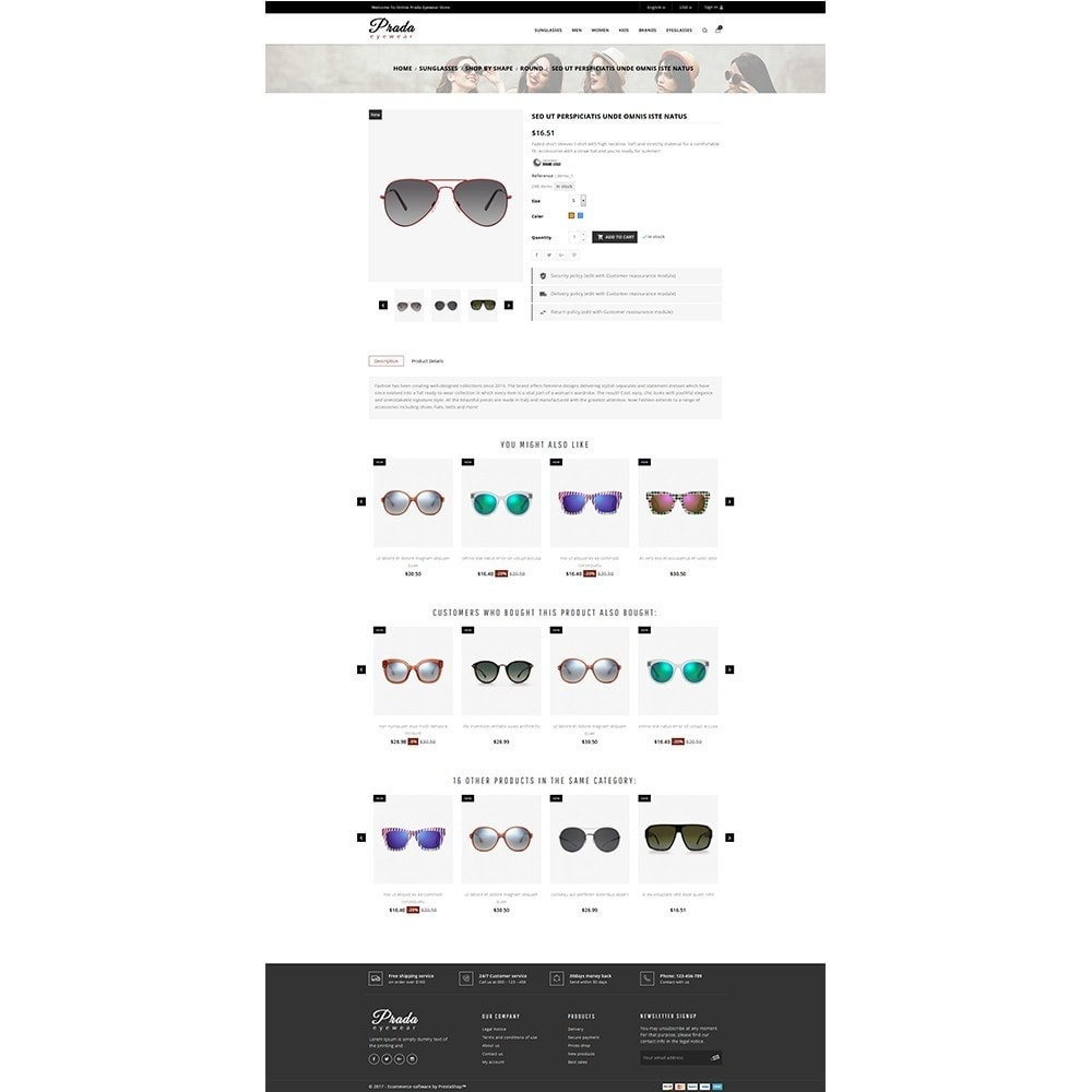 theme - Mode & Schuhe - Prada eyewear sunglasses store - 5