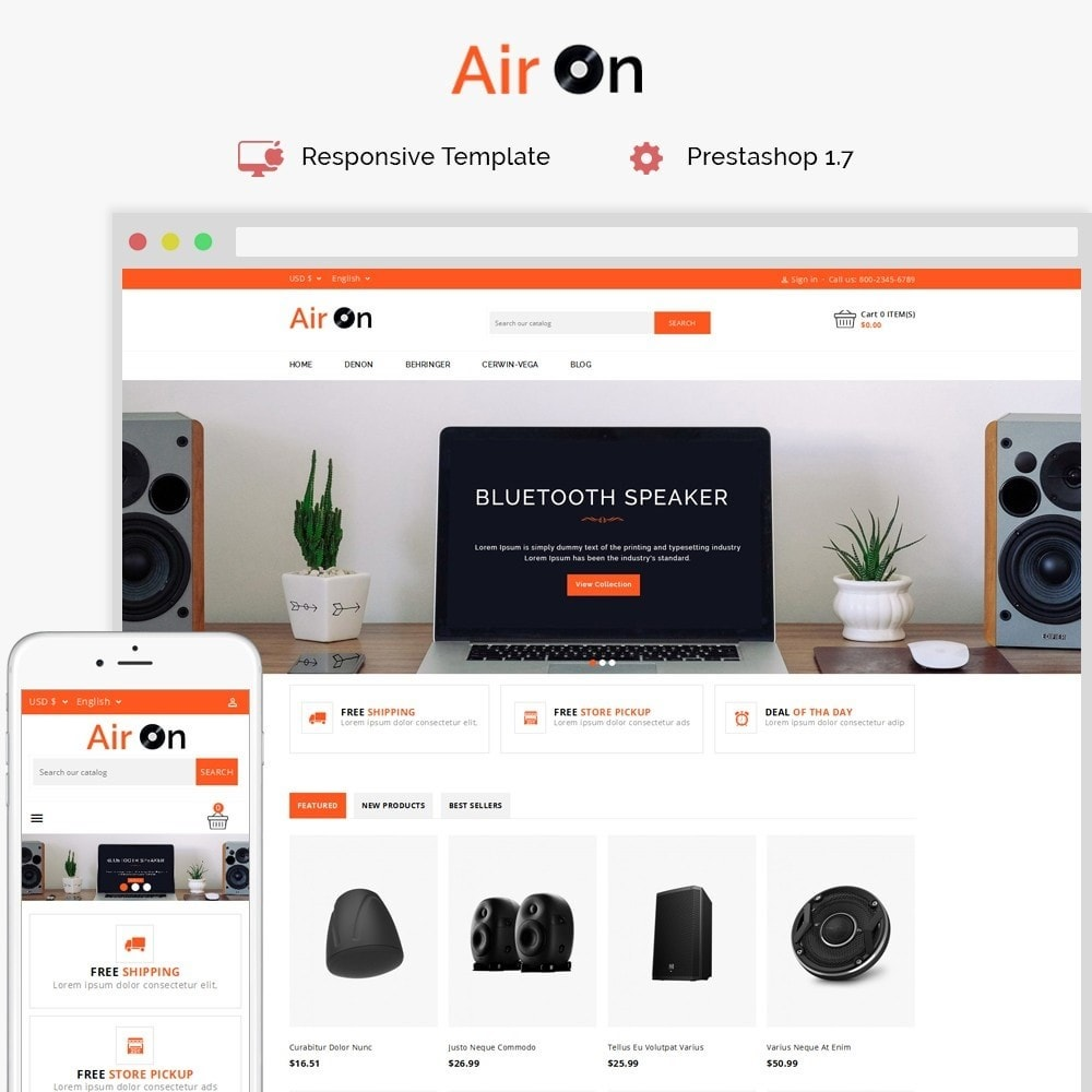 theme - Electronics & Computers - Airon Speakers Store - 1