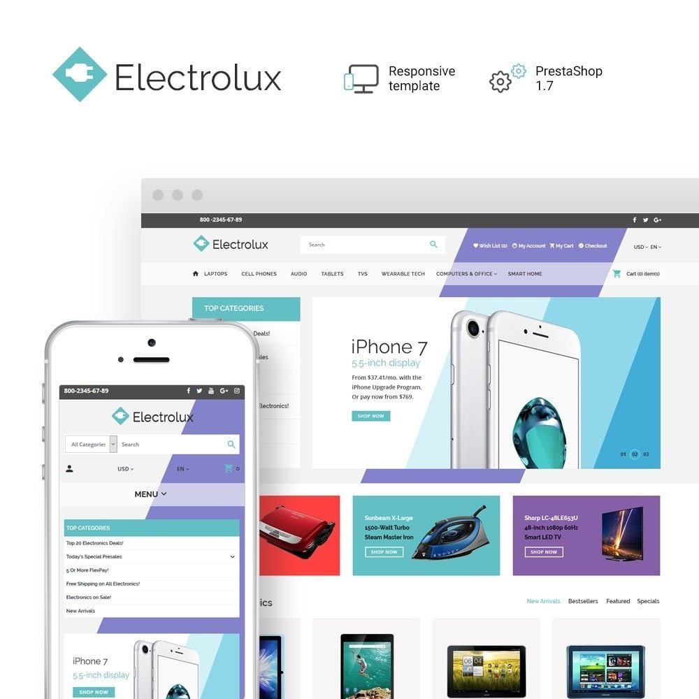 theme - Electronics & Computers - Electrolux - 1