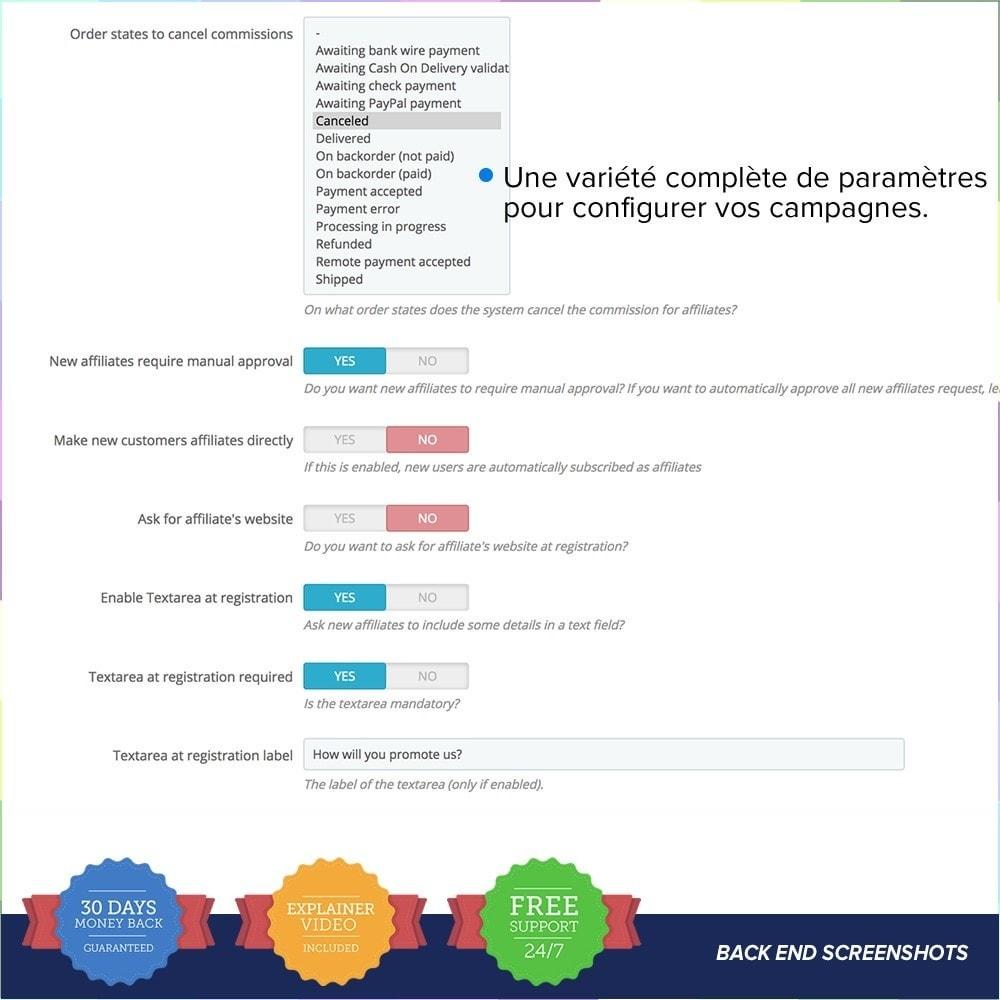 module - Référencement payant (SEA SEM) & Affiliation - Full Affiliés PRO - 12