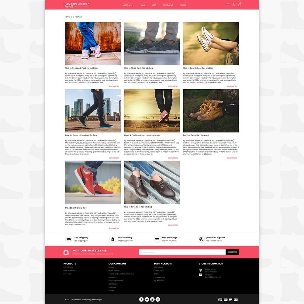 theme - Sports, Activities & Travel - Shoes Shop - Special Shoes Shop - 6