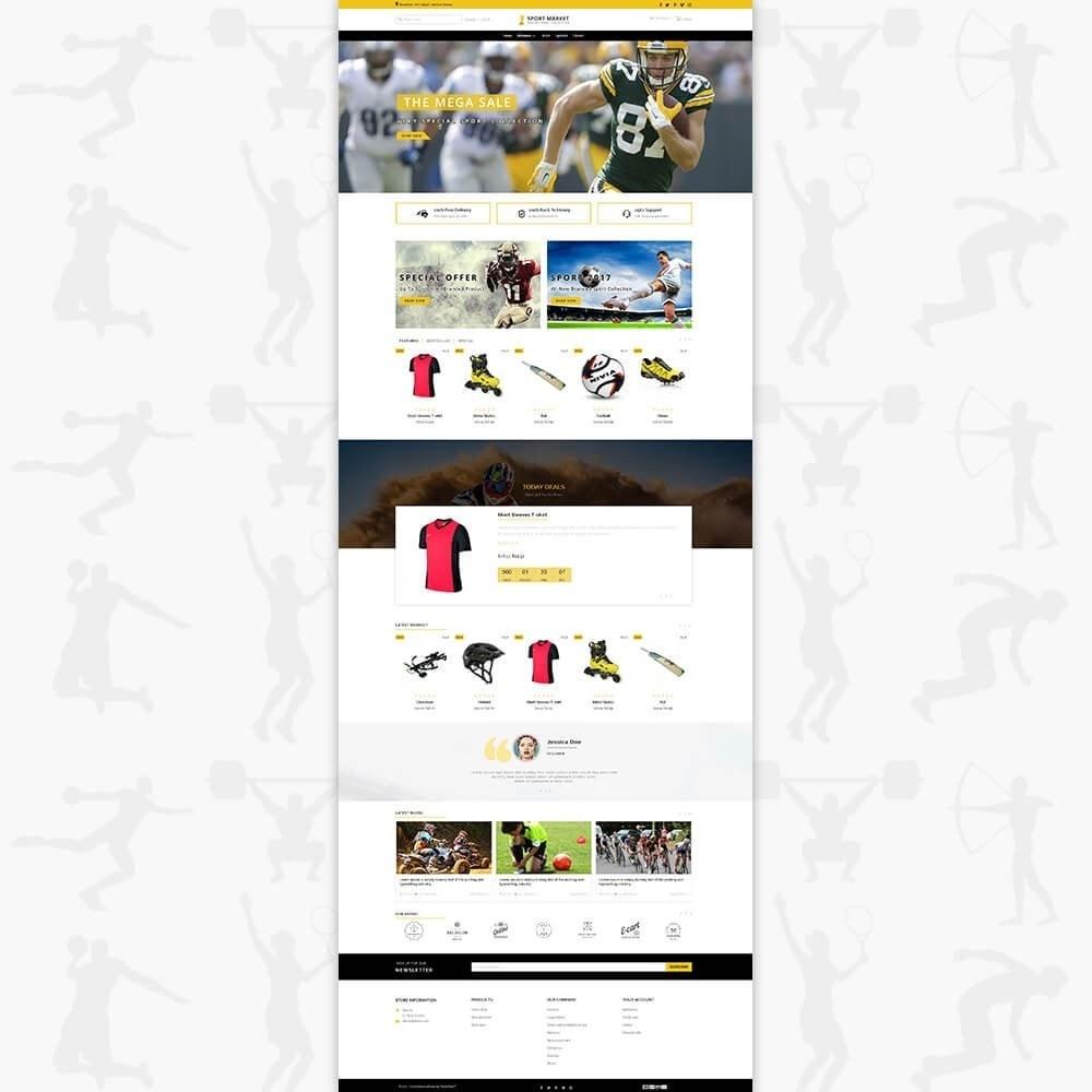 theme - Спорт и Путешествия - Sport Market - 2