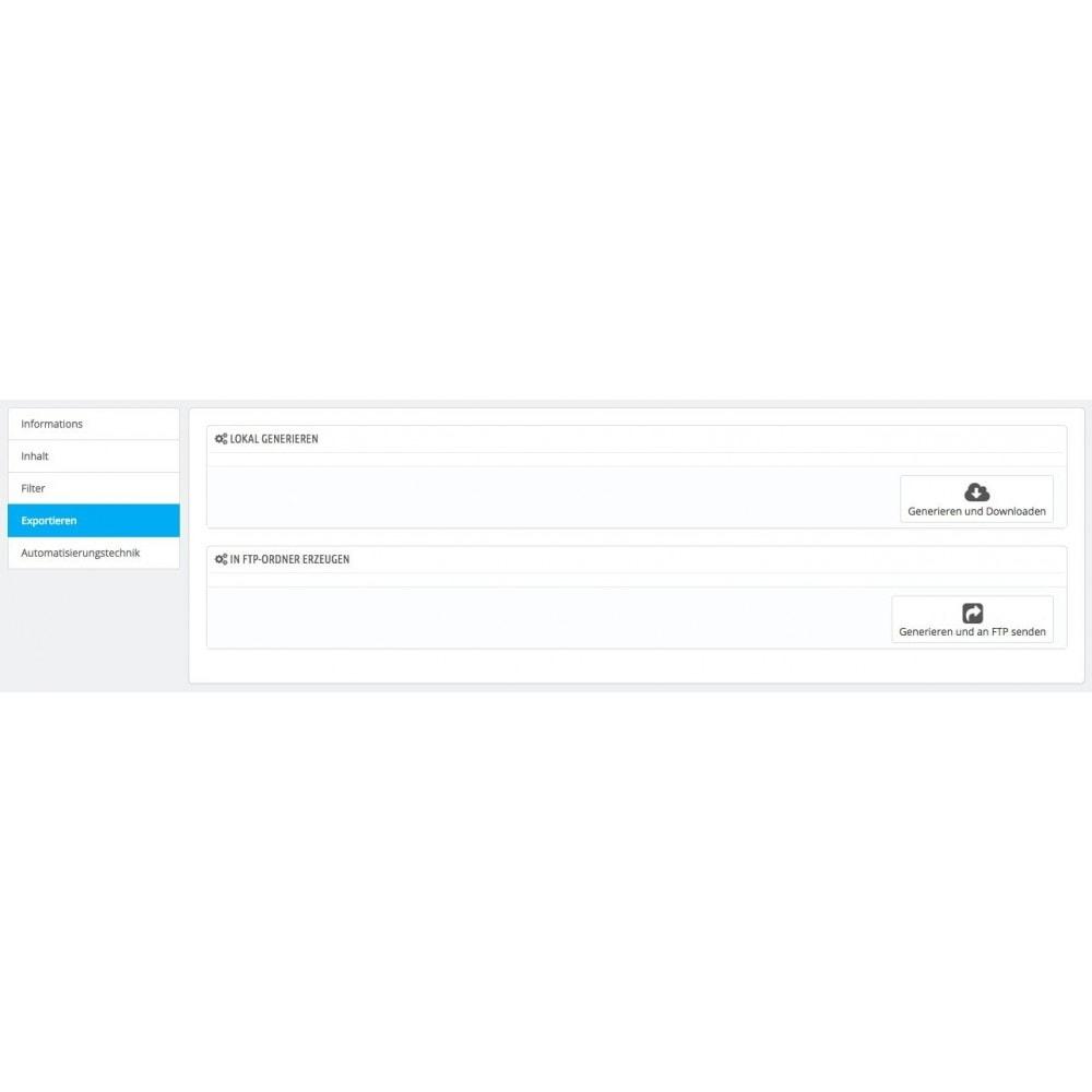 module - Daten Im-&Export - Rechnung - Gutschrift Export (CRON / FTP / MAIL) - 4