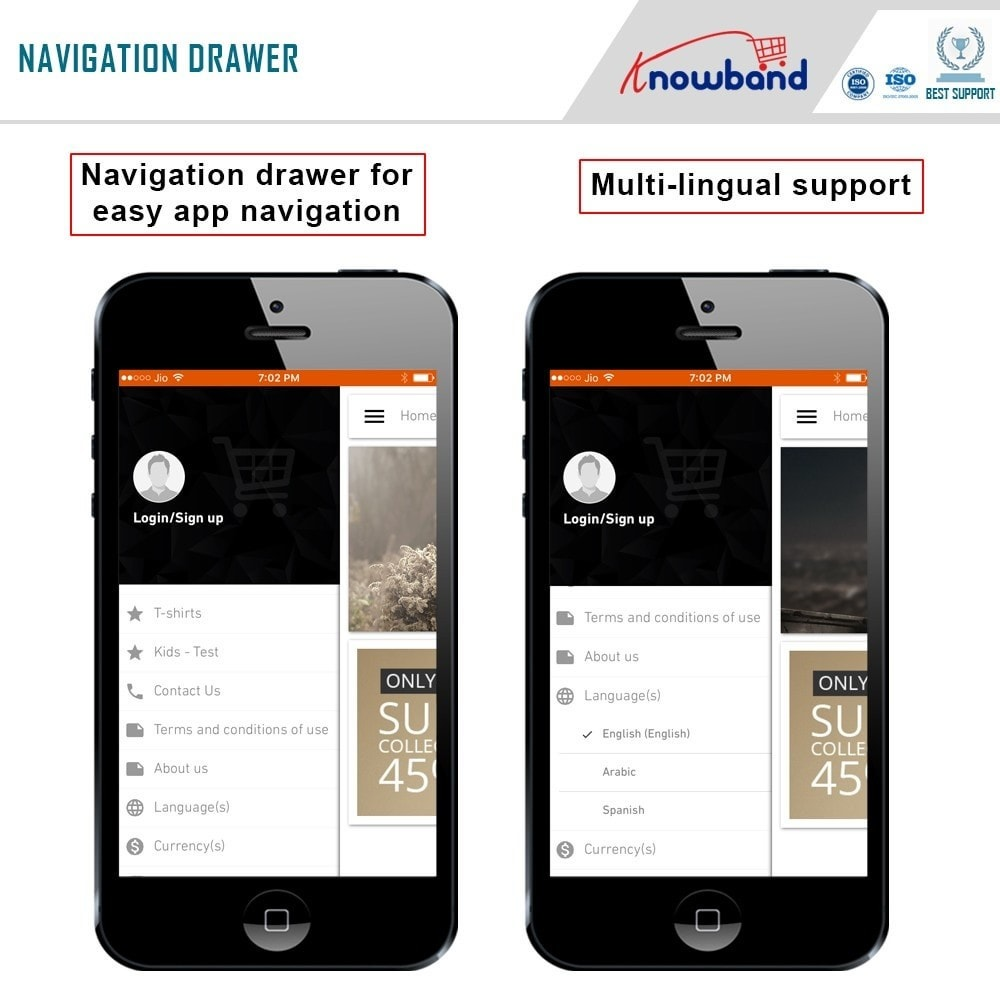 module - Мобильный телефон - Knowband - iOS Mobile App Builder - 6